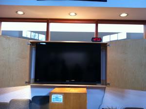 TV at COT Victoria